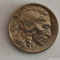Monedas antiguas de América: 5 CENTS 1921 USA EBC+++. Lote 222799090
