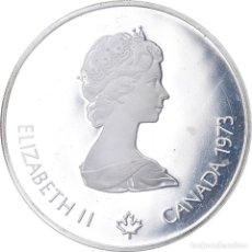 Monedas antiguas de América: MONEDA, CANADÁ, ELIZABETH II, 5 DOLLARS, 1973, ROYAL CANADIAN MINT, OTTAWA, BE. Lote 222796943