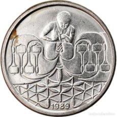 Monedas antiguas de América: MONEDA, BRASIL, 50 CENTAVOS, 1989, BC+, ACERO INOXIDABLE, KM:614. Lote 222799951