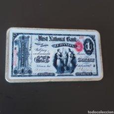 Monedas antiguas de América: EXCLUSIVO LINGOTE DE PLATA DE 1 DOLLAR. Lote 222802971