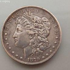 Monedas antiguas de América: MONEDA 1 DOLAR MORGAN 1879 PLATA USA. Lote 222804277