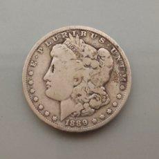 Monedas antiguas de América: MONEDA 1 DOLAR MORGAN 1889 NUEVA ORLEANS PLATA USA. Lote 222804946