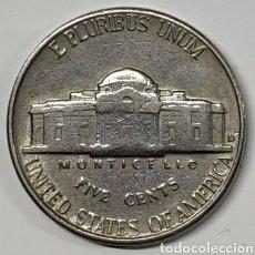Monedas antiguas de América: MONEDA USA, 5 CENTAVOS 1957 D. Lote 222811433