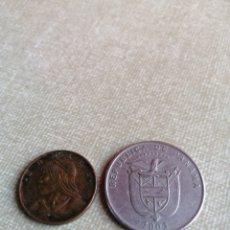 Monedas antiguas de América: LOTE DE 2 MONEDAS DE PANAMA. Lote 222894251