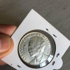 Monedas antiguas de América: MONEDA DE PLATA 50 CENTAVOS. CENTENARIO MARTI 1853- 1953 CUBA. Lote 222896728