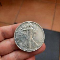Monete antiche di America: MONEDA DE 1 DOLAR.ONZA LIBERTY DE EEUU.DEL AÑO 1992.DE PLATA 999.ONE DOLLAR.S/C. Lote 223786670