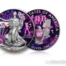 Monedas antiguas de América: EE. UU. - 1 DÓLAR 2018 'LIBERTY SILVER EAGLE DISCO' - 1 OZ - PLATA. Lote 224247833