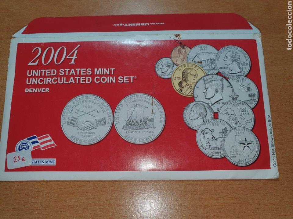 2004 UNITED STATES MINT UNCIRCULATED COIN SET DENVER (Numismática - Extranjeras - América)