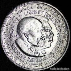 Monedas antiguas de América: ESTADOS UNIDOS - 1/2 DOLAR - 1954S - PLATA - NO CIRCULADO. Lote 225029717