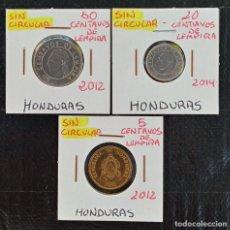 Monedas antiguas de América: LOTE MONEDAS HONDURAS 2012/14 SC. Lote 225112315