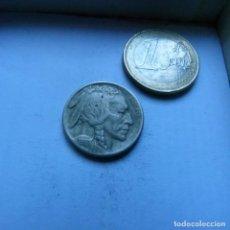 Monnaies anciennes d'Amérique: MONEDA DE CUPRO-NIQUEL DE 5 CENTAVOS DE ESTADOS UNIDOS AÑO 1916 INDIO BISONTE. Lote 225737075