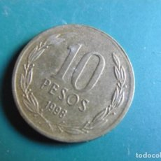 Monedas antiguas de América: MONEDA DE CHILE 10 CENTAVOS 1998. Lote 225767205