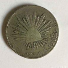 Monedas antiguas de América: MONEDA: 8 REALES (MEXICO, 1877) PLATA. ORIGINAL ¡COLECCIONISTA!. Lote 225796040