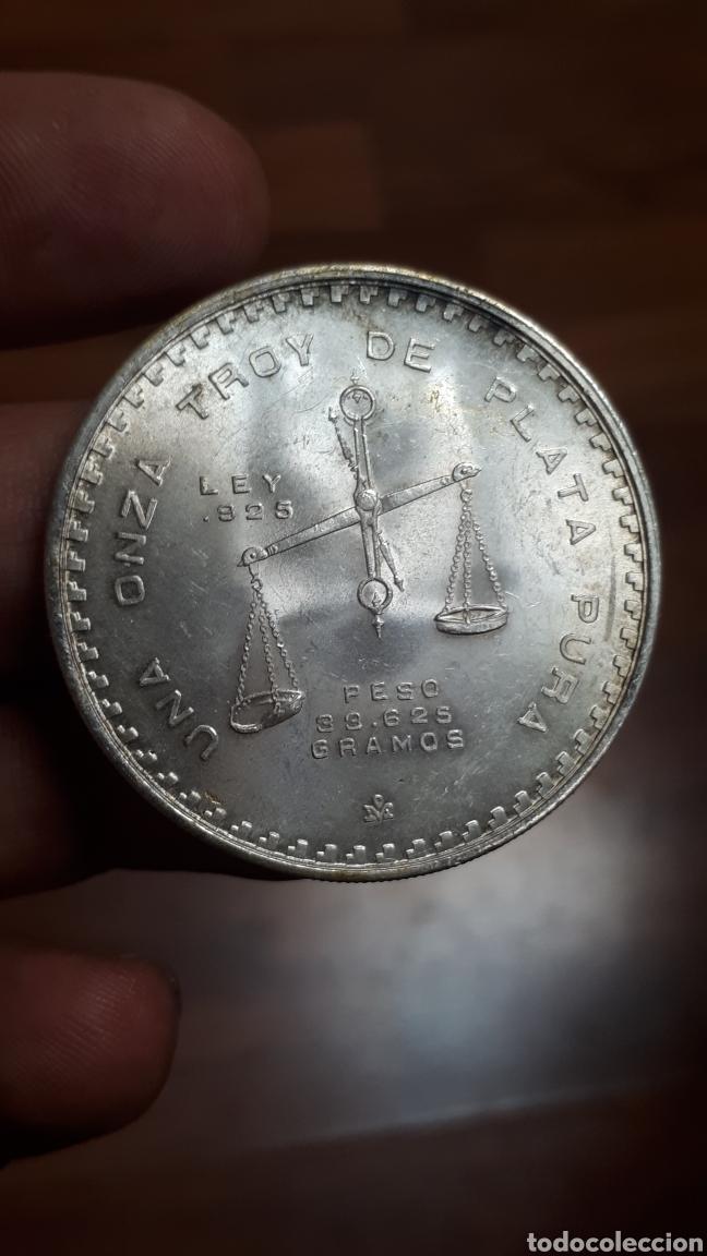 Monedas antiguas de América: MEXICO 1978 1 OZ troy ONZA plata silver (la fecha más RARA) - Foto 2 - 225932845
