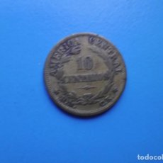 Moedas antigas da América: COSTA RICA 10 CENTIMOS 1947. Lote 226943484