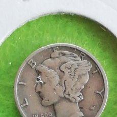 Monete antiche di America: 10 CENTAVOS DE ESTADOS UNIDOS DE 1939 DE PLATA. BIEN CONSERVADO.. Lote 226999635