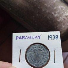 Monedas antiguas de América: MONEDA DE PARAGUAY 2 DOS PESO 1938. Lote 227691257