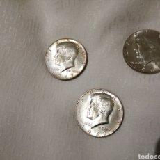Monedas antiguas de América: LOTE 3 MONEDAS PLATA MEDIO DÓLAR KENNEDY 1967. Lote 228781370