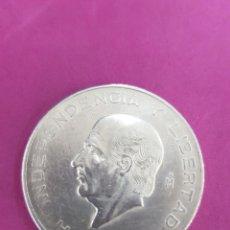Monedas antiguas de América: MÉXICO 10.PESOS DE PLATA ,1956 HIDALGO. Lote 229237560