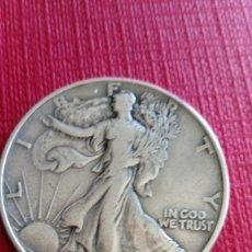 Monedas antiguas de América: MONEDA DE PLATA DE MEDIO DÓLAR DE 1943. Lote 229693205