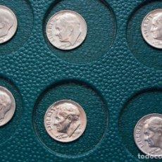 Monedas antiguas de América: LOTE 12 ONE DINE DOLAR USA, ENTRE LOS AÑOS 1976 Y 1990, INDICANDO LA CECA. Lote 230774810