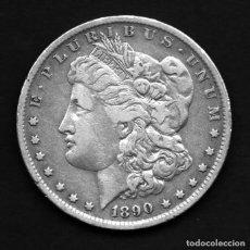 Monedas antiguas de América: DOLAR USA (ESTADOS UNIDOS) DE PLATA 1890 O (NUEVA ORLEANS). Lote 230824410