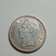 Monedas antiguas de América: MONEDA DE PLATA VENEZUELA 2 BOLIVARES 1960.. Lote 231383020