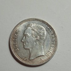 Monedas antiguas de América: MONEDA DE PLATA VENEZUELA 1 BOLIVAR 1960.. Lote 231386185