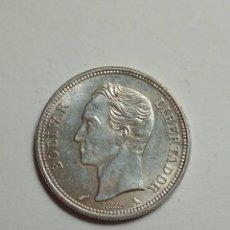 Monedas antiguas de América: MONEDA DE PLATA VENEZUELA 1 BOLIVAR 1960.. Lote 231386930