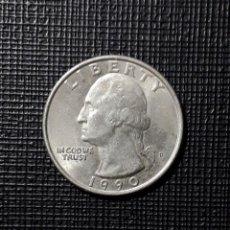 Monedas antiguas de América: ESTADOS UNIDOS QUARTER DOLLAR 1990 P. Lote 231830040