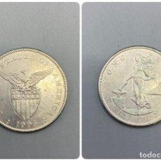 Monedas antiguas de América: MONEDA. EEUU. FILIPINAS. 1 PESO - ONE PESO. 1905. VER FOTOS. Lote 232260555