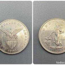 Monedas antiguas de América: MONEDA. EEUU. FILIPINAS. 1 PESO - ONE PESO. 1903. VER FOTOS. Lote 232260855