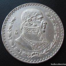 Monedas antiguas de América: MEXICO MEJICO 1 PESO 1962 PLATA MORELOS. Lote 232449725