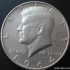 Monedas antiguas de América: ESTADO UNIDOS USA HALF DOLLAR 1964 KENNEDY. Lote 232450100