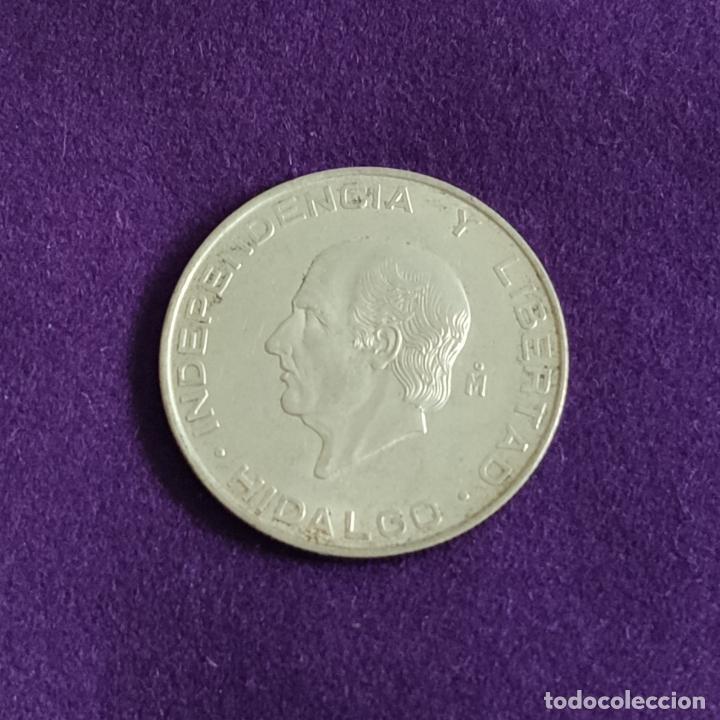 MONEDA DE PLATA DE MEXICO. 5 PESOS. 1956. PESO 18,055 GR. HIDALGO. MEJICO. SILVER. ESTADOS MEXICANOS (Numismática - Extranjeras - América)
