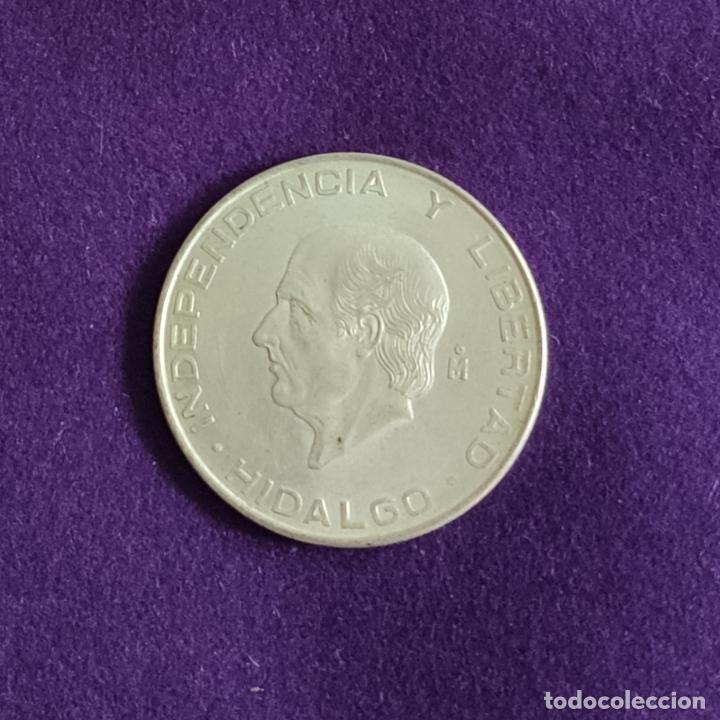 MONEDA DE PLATA DE MEXICO. 5 PESOS. 1955. PESO 18,055 GR. HIDALGO. MEJICO. SILVER. ESTADOS MEXICANOS (Numismática - Extranjeras - América)