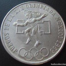 Monedas antiguas de América: MEXICO MEJICO 25 PESOS 1968 PLATA. Lote 232461125