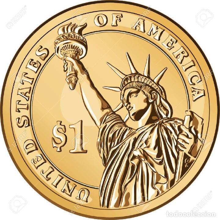 Monedas antiguas de América: USA ESTADOS UNIDOS 1 DÓLAR 2020 P - Presidentes 41º GEORG W BUSH - Foto 2 - 233048945