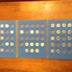 Monedas antiguas de América: COLECCION AVANZADA DE MONEDAS 1 DIME ROOSEVELT DE E.E.U.U. (USA) EN ALBUM WITHMAN 1946 A 1978. Lote 233394660