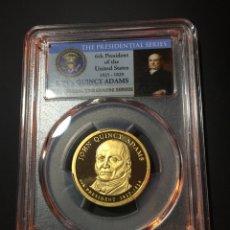 Monedas antiguas de América: MONEDA 1 DÓLAR ESTADOS UNIDOS EEUU - SERIE PRESIDENTES - JOHN Q. ADAMS - CERTIFICADA PCGS DOLLAR. Lote 233922990