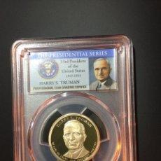 Monedas antiguas de América: MONEDA 1 DÓLAR ESTADOS UNIDOS EEUU - SERIE PRESIDENTES - HARRY TRUMAN - CERTIFICADA PCGS DOLLAR. Lote 233924045