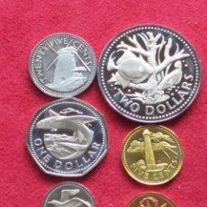 Monedas antiguas de América: BARBADOS 6 MONEDAS PROOF 1973. Lote 234314310