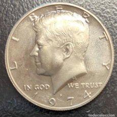 Monedas antiguas de América: ESTADOS UNIDOS, MONEDA DE 50 CENTAVOS DEL AÑO 1974. Lote 234434835