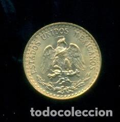 MEXICO - 2 PESOS DE ORO 900 MILESIMAS / 1,67 GRAMOS. SIN CIRCULAR. (Numismática - Extranjeras - América)