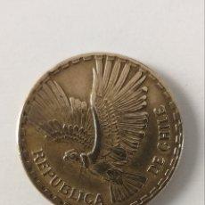 Monedas antiguas de América: 10 CENTESIMOS 1966 REPUBLICA DE CHILE. Lote 234841195
