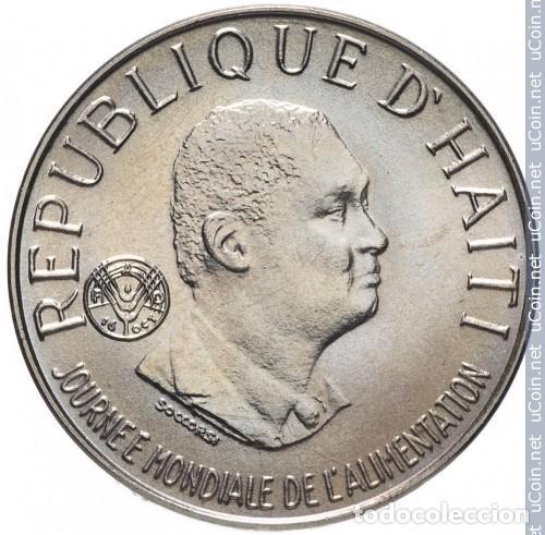 Monedas antiguas de América: HAITI 0.05 GOURDES 1981 FAO SIN CIRCULAR - Foto 2 - 234935115