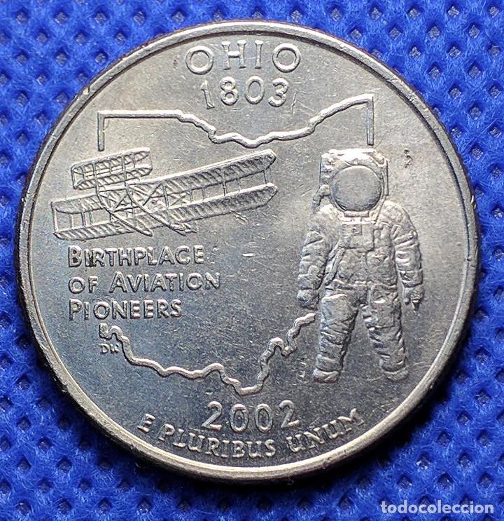 EEUU USA 1/4 DOLAR 2002 (OHIO) (Numismática - Extranjeras - América)