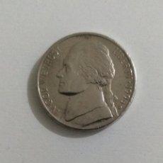 """Monedas antiguas de América: MONEDA AMERICANA FIVE CENTS 1995 DENVER LETRA """"D"""". Lote 234979075"""