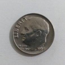 Monedas antiguas de América: MONEDA AMERICANA ONE DIME 1969. Lote 234986470