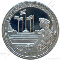 Monedas antiguas de América: USA: 25 CENTS PLATA 2019 PROOF AMERICAN MEMORIAL PARK N. MARIANA ISLAND QUARTER. Lote 235301125